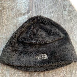 NORTHFACE brown winter hat